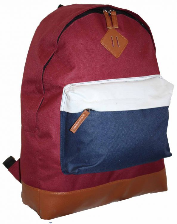 Módní Batoh Backpack A4 Borderline (BP241) - Burgund