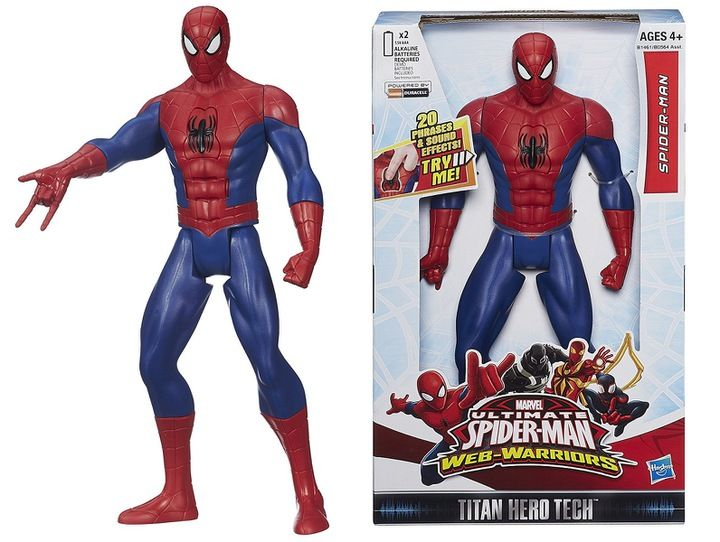 Spiderman Titan Hero Figurka 30 cm Zvuky Hasbro Marvel